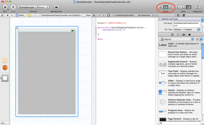 Xcode 4 Assistant Editor View